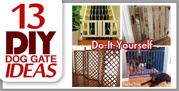 13 DIY Dog Gate Ideas